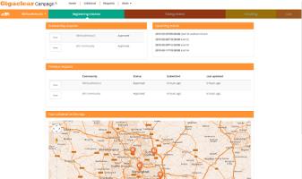 Web design and development for S net UK