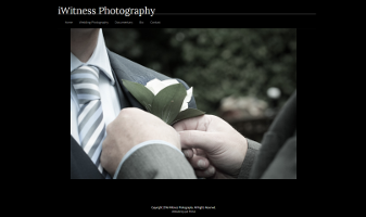 Web design, development and consultancy for iWitness Photography
